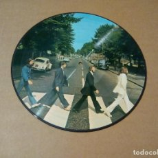 Discos de vinilo: THE BEATLES - ABBEY ROAD (LP PICTURE DISC). Lote 144394856