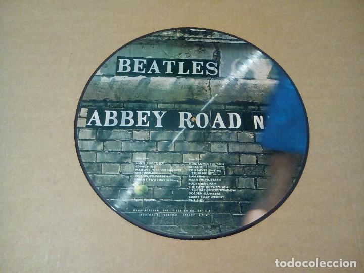 Discos de vinilo: THE BEATLES - Abbey Road (LP picture disc) - Foto 2 - 144394856