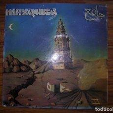 Discos de vinilo: LP MEZQUITA RECUERDOS DE MI TIERRA AÑO 1979 CHAPA DISCOS HS 35.024 FIRMADO POR ELLOS RARO VER FT AD. Lote 64723051