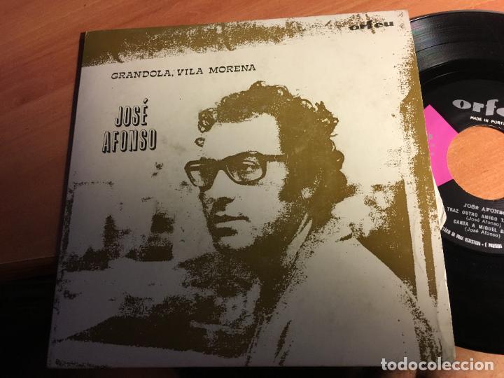 JOSE AFONSO ( GRANDOLA, VILA MORENA) EP PORTUGAL (EPI3) (Música - Discos de Vinilo - EPs - Otros estilos)