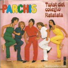 Discos de vinilo: PARCHIS SINGLE SELLO BELTER EDITADO EN ESPAÑA AÑO 1980 . Lote 64735339