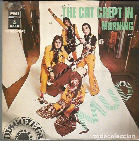 MUD SINGLE SELLO EMI-ODEON EDITADO EN ESPAÑA AÑO 1974 (Música - Discos - Singles Vinilo - Pop - Rock - Extranjero de los 70)