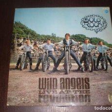 Discos de vinilo: DISCO DE VINILO LP, WILD ANGELS LIVE AT THE REVOLUTION. Lote 64738539