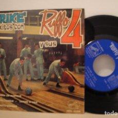 Discos de vinilo: --STRIKE DE EXITOS CON RUFFO Y SUS 4 ´´SI YO TUVIERA UN MARTILLO-EP DE 4 CANCIONES -1964-ODEON BCN. Lote 64744571