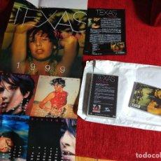 Discos de vinilo: TEXAS GRAN SOBRE SERIGRAFIADO CON SU ÁLBUM THE HUSH CD VÍDEO GRAN PÓSTER BIOGRAFÍA FOTOS. Lote 64755707