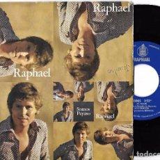Discos de vinilo: RAPHAEL: SOMOS / PAYASO. Lote 64774843