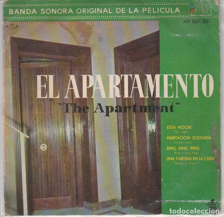 EL APARTAMENTO (BANDA SONORA) FERRANTE Y TEICHER (EP 1960) (Música - Discos de Vinilo - EPs - Bandas Sonoras y Actores)