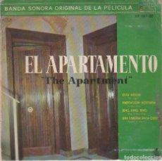 Discos de vinilo: EL APARTAMENTO (BANDA SONORA) FERRANTE Y TEICHER (EP 1960). Lote 64780411