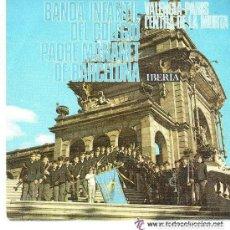 Discos de vinilo: BANDA INFANTIL DEL COLEGIO PADRE MANAÑET DE BARCELONA: VALENCIA-PARIS + L'ENTRA DE LA MURTA - 1970. Lote 64780951