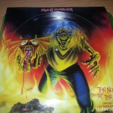 Discos de vinilo: IRON MAIDEN-THE NUMBER OF THE BEAST-PICTURE DISC-LIMITED EDITION-3 TRACKS-2005. Lote 64781079