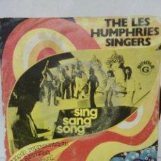 Discos de vinilo: THE LES HUMPHRIES SINGERS - SING SANG SONG -. Lote 64797507
