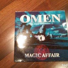 Discos de vinilo: MAGIC AFFAIR-OMEN(THE STORY CONTINUES..) 2 LP.UK. Lote 64805131