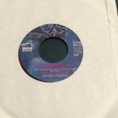 Discos de vinilo: 'I MAY BE USED / DO YOU WANT TO BE A COWBOY SINGER' DE WAYLON JENNINGS. SINGLE DE JUKE BOX USA. 1983. Lote 64806403