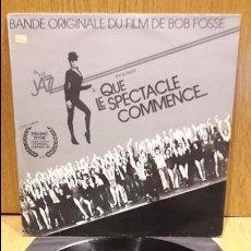 Discos de vinilo: B.S.O. QUE LE SPECTACLE COMMENCE. ROY SCHEIDER. LP / CASABLANCA / MBC.***/***. Lote 64815455