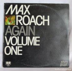 Discos de vinilo: VINILO LP: MAX ROACH -AGAIN (VOLUME ONE)- AFFINITY 1977.. Lote 64826079