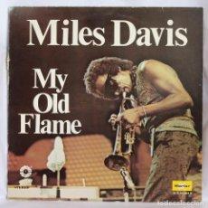 Discos de vinilo: VINILO LP: MILES DAVIS -MY OLD FLAME- MARFER 1977.. Lote 64828395