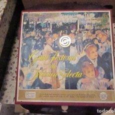 Discos de vinilo: GRAN FESTIVAL DE MUSICA SELECTA, 12 DISCOS Y LIBRILLO. Lote 64829103