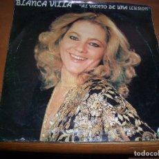 Discos de vinilo: SINGLE DE BLANCA VILLA. AL VIENTO DE UNA ILUSION. EDISION SURCOSUR DE 1981. RARO.. Lote 64838727