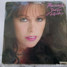 Disques de vinyle: MASSIEL - TIEMPOS DIFICILES - LP - 1981. Lote 64840183