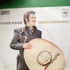Discos de vinilo: VICENTE FERNANDEZ-VOLVER,VOLVER-1972. Lote 64840305