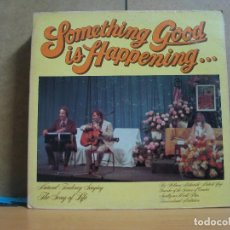 Disques de vinyle: RICK STANLEY AND PAUL FAUERSO - SOMETHING GOOD IS HAPPENING ... - SIN DISCOGRAFICA / SIN NUMERAR. Lote 64855659