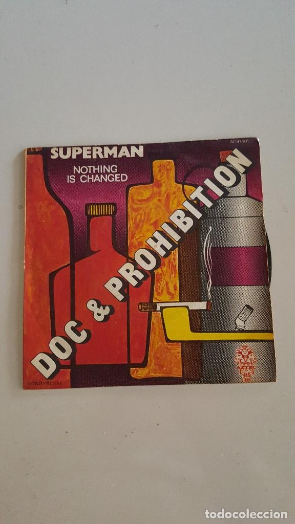 DOC & PROHIBITION ?– SUPERMAN / NOTHING IS CHANGED (Música - Discos - Singles Vinilo - Jazz, Jazz-Rock, Blues y R&B)