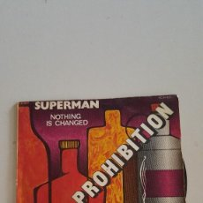Discos de vinilo: DOC & PROHIBITION ?– SUPERMAN / NOTHING IS CHANGED. Lote 64866359