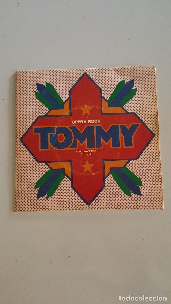 PETE TOWNSHEND - ROGER DALTREY ?– LISTENING TO YOU / SEE ME, FEEL ME / OVERTURE TOMMY (Música - Discos - Singles Vinilo - Pop - Rock - Extranjero de los 70)