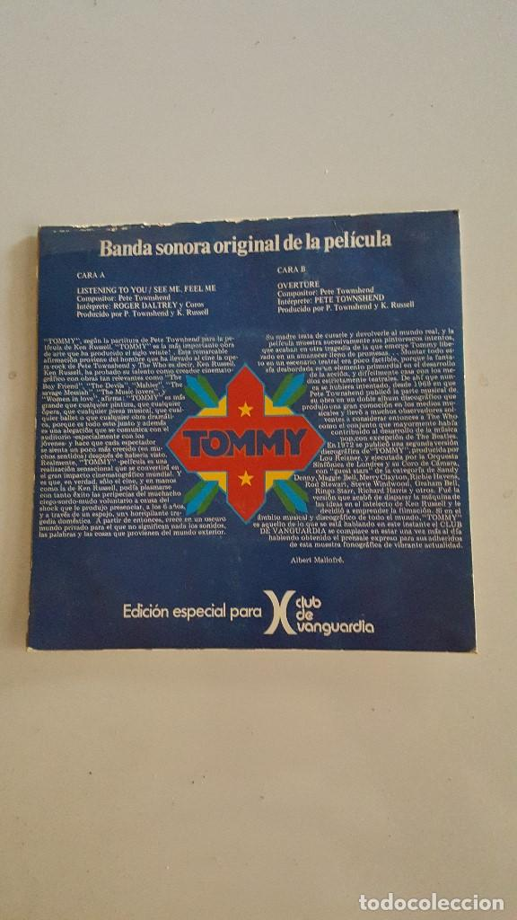 Discos de vinilo: Pete Townshend - Roger Daltrey ?– Listening To You / See Me, Feel Me / Overture TOMMY - Foto 2 - 64867159