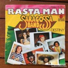 Discos de vinilo: SARAGOSSA BAND - RASTA MAN . SINGLE . 1979 ARIOLA . Lote 64867815