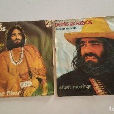 Discos de vinil: 2 DÉMIS ROUSSOS ?– FOREVER AND EVER - WE SHALL DANCE. Lote 64873795