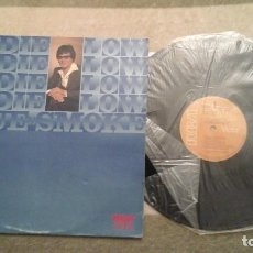 Discos de vinilo: EDDIE LOW - BLUE SMOKE LP RCA VPL10407 NEW ZEALAND M?ORI COUNTRY SINGER MUY RARO. Lote 64884443