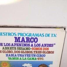 Discos de vinilo: NUESTROS PROGRAMAS DE T.V. - MARCO. Lote 64894007
