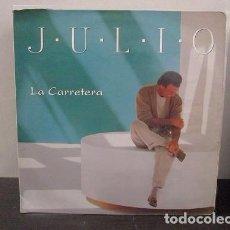 Discos de vinilo: JULIO IGLESIAS LA CARRETERA 1995 SONY COLOMBIA VINILO LP ESTADO VG T52 ESCASO WU. Lote 64898123