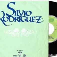 Discos de vinil: SILVIO RODRÍGUEZ: RÍO / ¿QUÉ HAGO AHORA?. Lote 64901651
