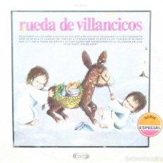 Discos de vinilo: RUEDA DE VILLANCICOS LP MOVIEPLAY 1966. Lote 64907523