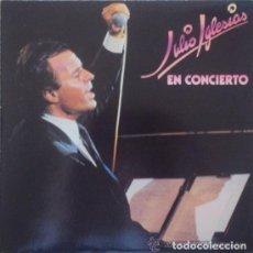 Discos de vinilo: JULIO IGLESIAS - EN CONCIERTO - CBS - 1983 - DOBLE LP. Lote 64929687