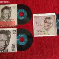 Discos de vinilo: NAT KING COLE 3 EPS. Lote 64934047