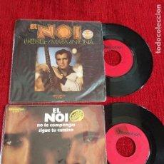 Discos de vinilo: EL NOI. 2 SG ( CARPETAS PELÍN MUTILADAS). Lote 64935627
