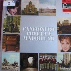 Vinyl-Schallplatten - lp - regional/folklore - cancionero popular madrileño - varios (spain, fontana 1971) - 64965427