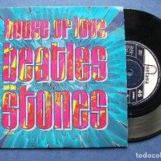Discos de vinilo: HOUSE OF LOVE BEATLES & STONES SINGLE UK 1990 PDELUXE. Lote 64967731