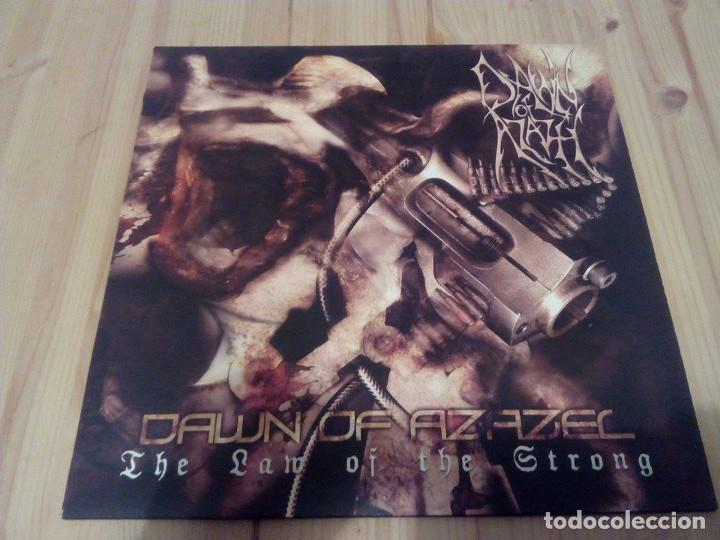 DAWN OF AZAZEL -THE LAW OF THE STRONG -LP BLACK METAL DEATH METAL (Música - Discos - LP Vinilo - Heavy - Metal)