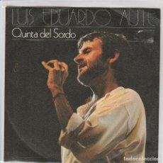 Dischi in vinile: L.E.AUTE / QUINTA DEL SORDO / MALDITA DEPRESION (SINGLE PROMO 1985). Lote 64976479