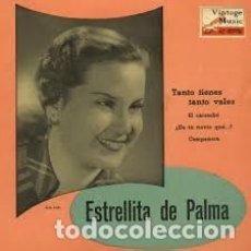 Discos de vinilo: [LOTE DE CONJUNTO:] 2 EPS: ESTRELLITA DE PALMA (1958) Y MARIFÉ DE TRIANA (1964). Lote 64989663