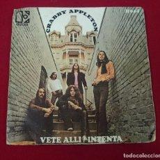 Discos de vinilo: CRABBY APPLETON - VETE ALLI / INTENTA. Lote 65015231