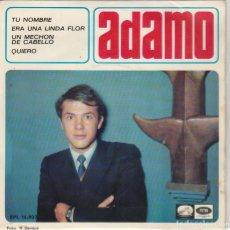 Discos de vinilo: ADAMO (EN ESPAÑOL) TU NOMBRE + 3 (EP 1966). Lote 65018651