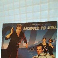 Discos de vinilo: LICENCIA PARA MATAR BSO LICENCE TO KILL 007. Lote 64930511