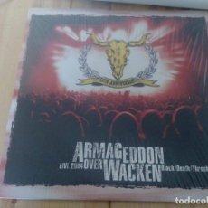 Discos de vinilo: VARIOUS-ARMAGEDDON OVER WACKEN - LIVE 2004 -LP RECOPILACION BLACK METAL DEATH. Lote 65032011