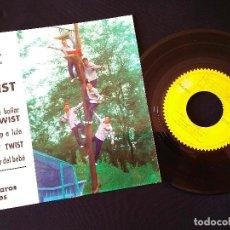Discos de vinilo: LOS PAJAROS LOCOS VEN A BAILAR EL TWIST / EP. Lote 65033831