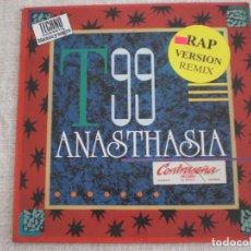 Discos de vinilo: T99 - ANASTHASIA. Lote 65040731